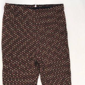 NWOT FREE PEOPLE FLORAL FLARED LEG STRETCH PANTS